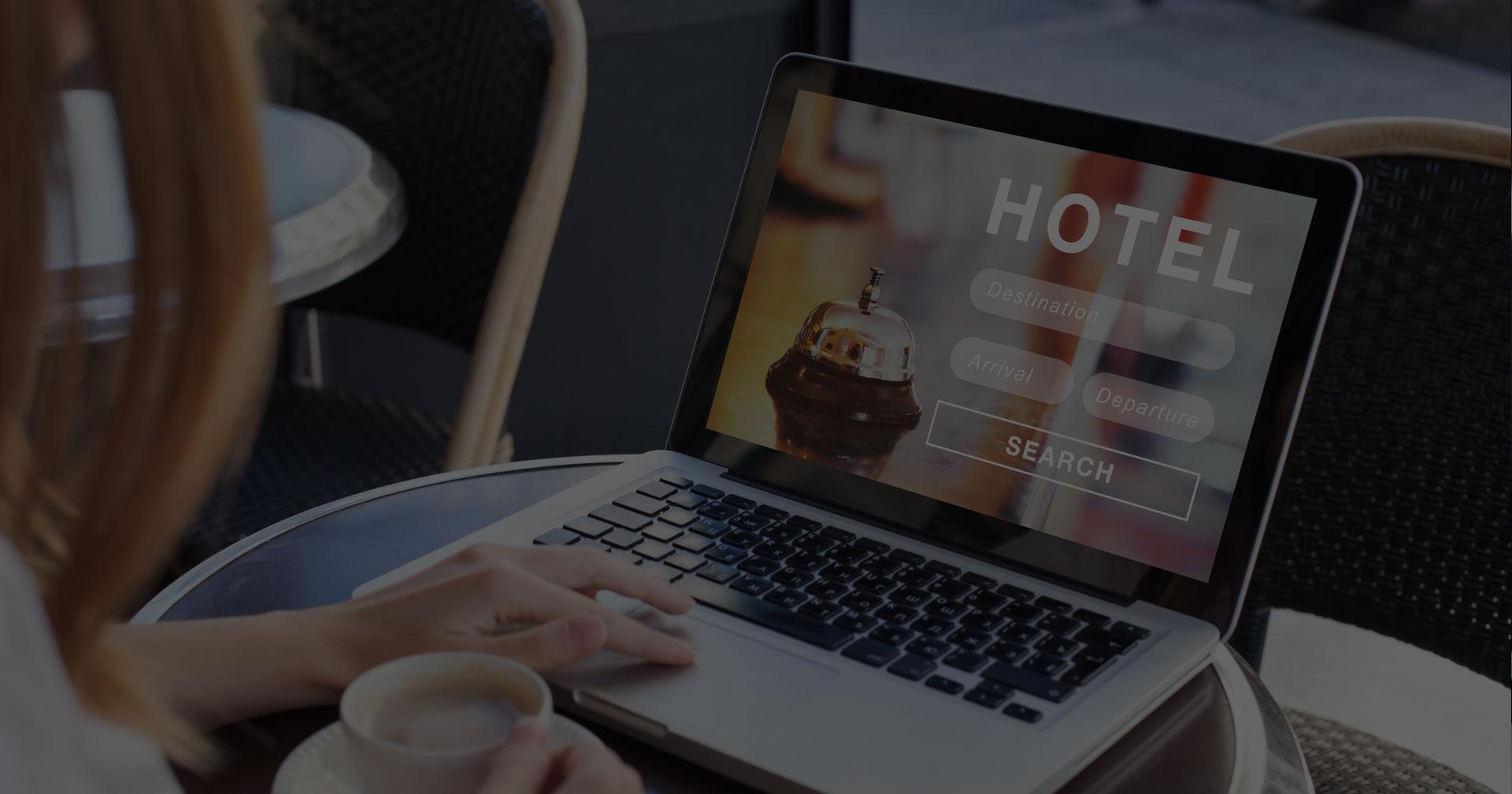 Réservation d'une chambre d'hôtel en ligne